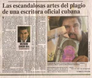Primera parte del articulo sobre los plagios de El Nuevo Herald