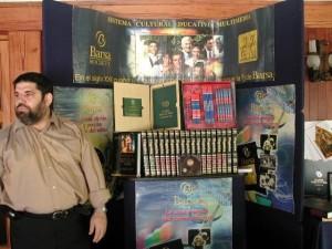 Jose Antonio Gutierrez Caballero como Director Comercial de Barsa Planeta de Venezuela, en el 2004