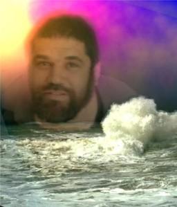 Jose Antonio Gutierrez Caballero en su mar bravio, 2004