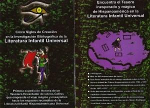 Paginas centrales de El tesoro encontrado, de Jose Antonio Gutierrez