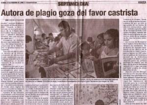 Segunda parte del articulo sobre los plagios de El Nuevo Herald