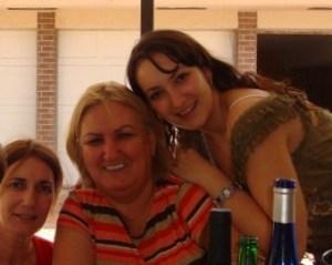 Las almas girasoles de Sila, Lourdes y Lizandra, 2009
