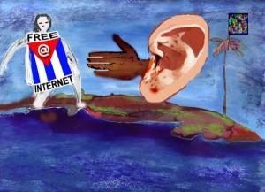 Margarita García Alonso, la gran movilizadora de la protesta Web del 1 de Junio, y la comentarista del texto de David Lago González.