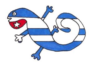 Cubatija Enamorada, otra de las Banderas para uno de los sitios webs de Josan Caballero.