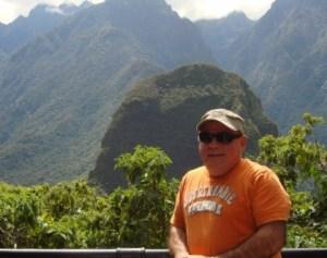 Jorge Cancio, esta misma semana de mayo, en el Perú.
