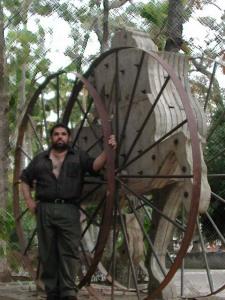 La rueda de la fortuna, en José Antonio Gutiérrez Caballero, 2004.