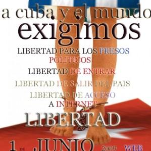 PETICIONES DE LIBERTADES PARA EL 1 DE JUNIO.
