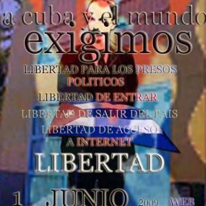MARTÍ, TAMBIÉN ABANDERADO Y MOVILIZADO PARA RECLAMAR Y PROTESTAS. TODOS LOS MÁRTIRES Y HÉROES DEBERÍAN ESTAR...