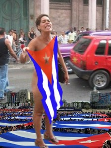 EL CLAMOR POPULAR CONVERTIDO EN MUJER BANDERA NACIONAL.