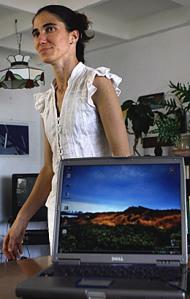 Yoani Sánchez, la reconocida bloguera cubana.