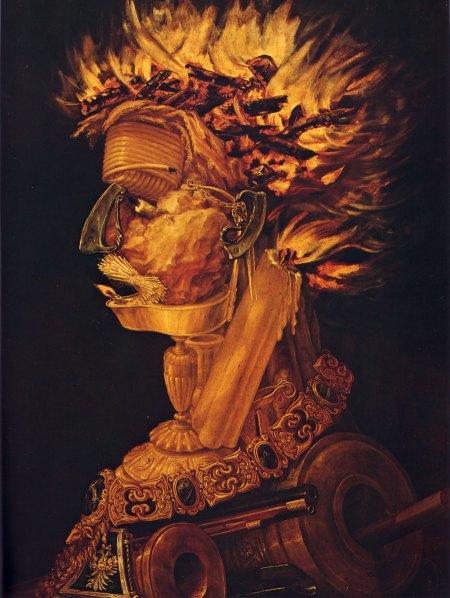 Otra pintura del manierista Archimboldo...