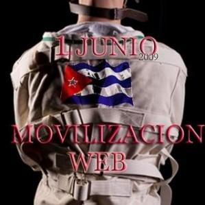 MOVILIZACION CON BANDERA, por Margarita García Alonso.