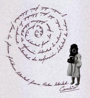 El cambio es la espiral de la vida, affiche de Chiquita Cubana.