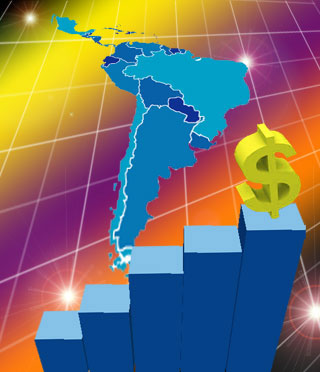 Crecimiento o no del liderazgo latinoamericano.