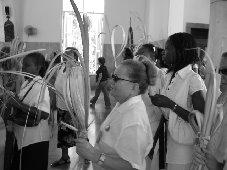 DAMAS DE BLANCO, en su resistencia por la Libertad de los Presos Políticos en Cuba.