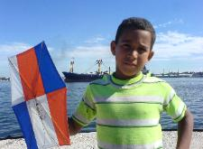 A lanzar nuestras banderas y empinarlas con todos los niños de Miami, como un ensayo piloto, para luego proyectarlo al Malecón habanero.