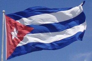 BANDERA CUBANA EN LA WEB.