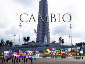 EL CAMBIO EN LA HABANA CON LAS BANDERAS BLOGUERAS.