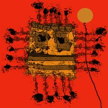 Una imagen caricaturesca de Ignacio Granados, por Willy Trapiche.