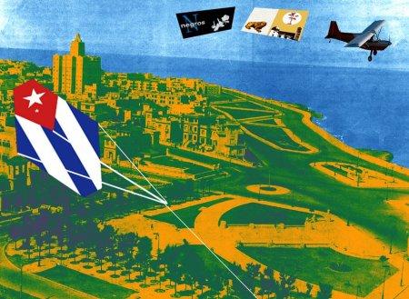 El PAPALOTE BANDERA DE LA CUBALEAH y los CARTELES PATRIÓTICOS, de Willi Trapiche y Ignacio Teodoro Granados, abren la Campaña Mundial PAPALOTEANDO BANDERAS POR LA LIBERTAD DE CUBA, propuesta por Josancaballero's Blog.