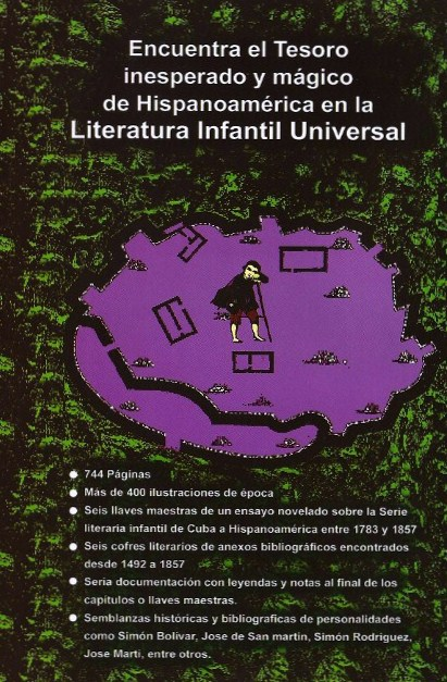 Otra Portadilla de El Tesoro Encontrado, escrito por José Antonio Gutiérrez Caballero.