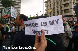Dónde están los votos, por los que cayó Neda Soltani...