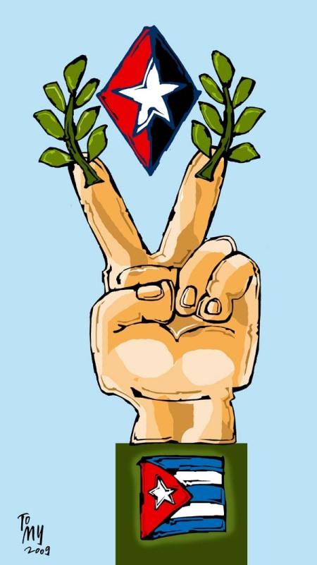 Extraña Caricatura de Viudictatoria. Josán Caballero.