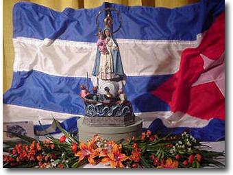 Caridad del Cobre, de Cuba, cúbrelos con tu manto...