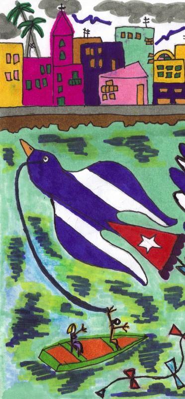 La Papaloma Bandera, del sitio web ABRACALIBRO, de Josán Caballero.