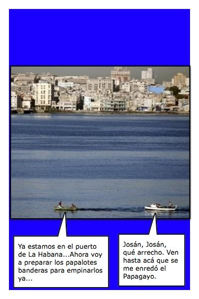 Papalotear la Habana, a lo Leal Caballero...