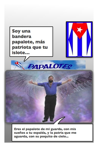 Una Jornada Mensual para los Papalotes con Banderas de Josán...