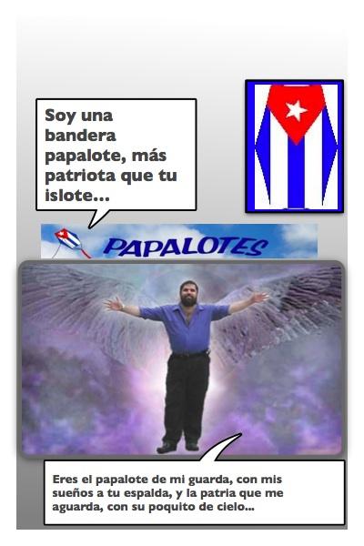 Un ángel se extiende cual bandera por el mundo, Josán Caballero.