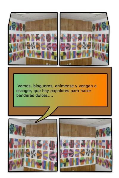 La Campaña Mundial Papaloteando Banderas por la Libertad de Cuba, de Josán Caballero, en una Jornada Web del 1 al 5 de Julio del 2009.