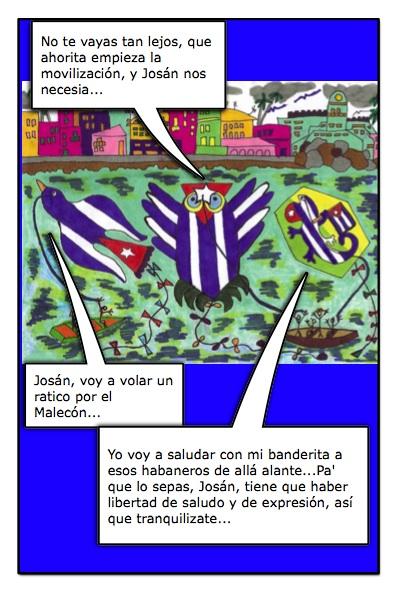 Los Papalotes Banderas de Josán, un canto a la Libertad de Cuba...