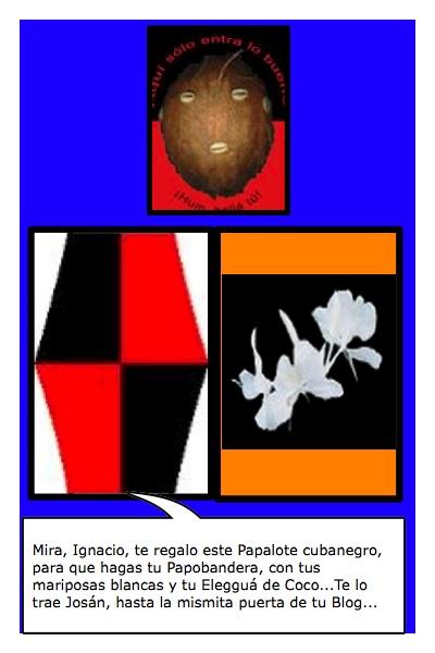 Papalegguá, propuesta de Papalote bandera para Ignacio T. Granados, por Josán Caballero.