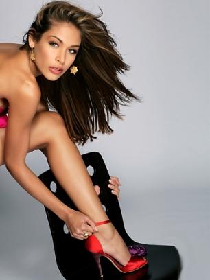 Dayana Mendoza, la Miss Universo 2008.