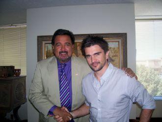 Gobernador Richardson y Juanes...