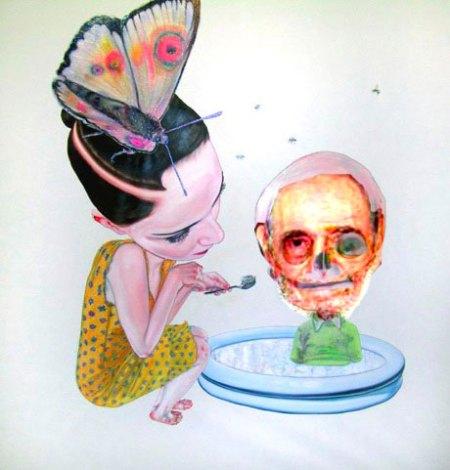 Nuevos niños del milenio, contra el Monstruo..., de Chiquita Cubana.