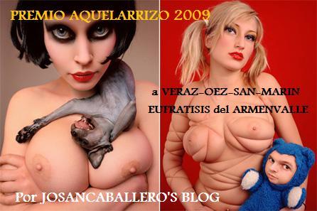 Premio Aquelarrizo 2009 de Josan Caballero
