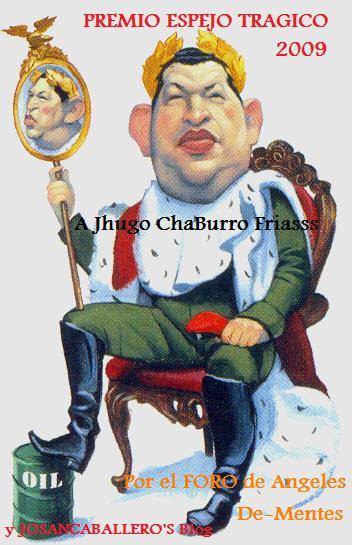 Premio Espejo Trágico de Josán Caballero.