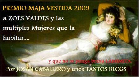 Premio Maja Vestida 2009