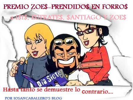 Premio ZoEs-Prendidos en Forros