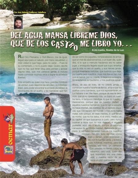 Del Agua Mansa...Una página de la Revista BRUJULAR DE MIAMI, escrita y editada por Josán Caballero.