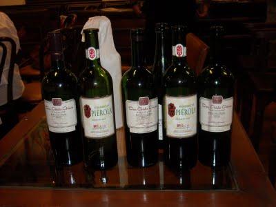 Una muestra de los selectos vinos presentados por Nina Romo, de DIVINOS IMPORTS.