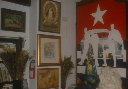 El Centro de Arte Cultural CUBA 8, donde será lanzada este sábado la Revista BRUJULAR DE MIAMI, cuyo redactor y editor en Jefe es Josán Caballero.
