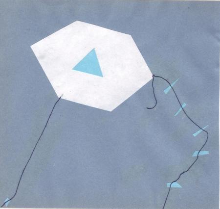 Papalote del Blog El Azul de Mí Mismo, de Osvaldo Raya, para Josán Caballero.