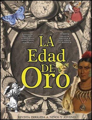 Una portada reciente de La Edad de Oro, ya editada como libro infantil, en el blog de Yamil Cuéllar.