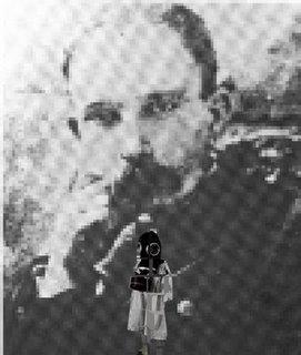 José Martí y la Chiquita Cubana en el corazón.