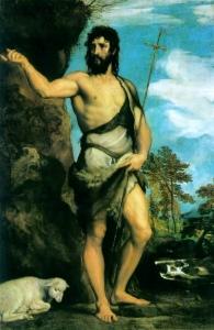 San Juan Bautista (Oil on canvas, c_1542)