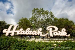 Hialeah Park, Hialeah, FL 10/21/09